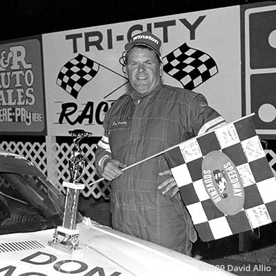 Tri-City Raceway 1989 Ron Bradley