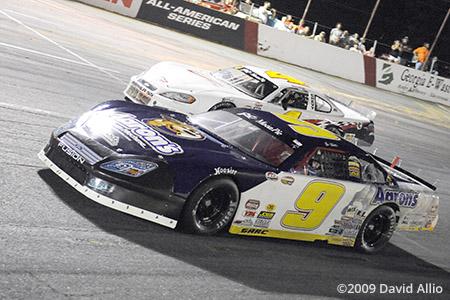 Lanier National Speedway 2009 Chase Elliott Michael Pilla