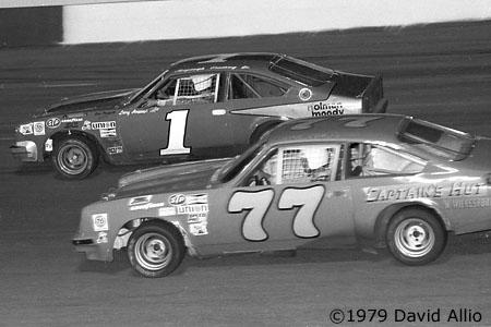 Nashville International Raceway 1979 Dean Combs Larry Hoopaugh