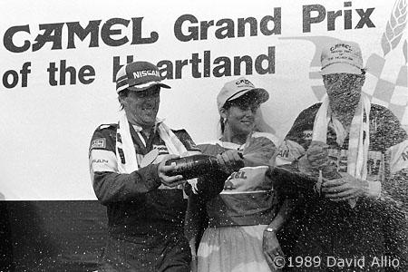 Heartland Park 1989 Geoff Brabham Chip Robinson