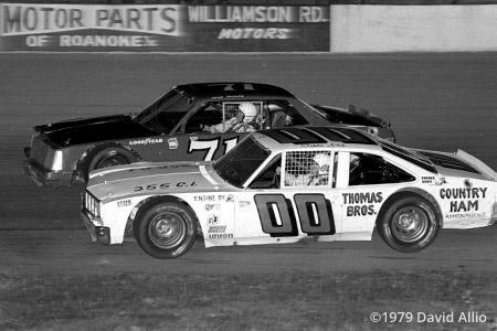 Franklin County Speedway 1979 Sam Ard Gene Glover