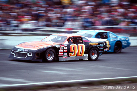 South Sound Speedway 1989 Bob Fox Garret Evans