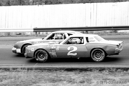 Richmond Fairgrounds Raceway 1979 Dale Earnhardt Cale Yarborough