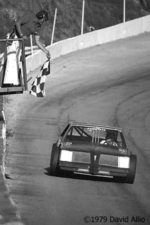 Kingsport International Speedway 1979 Gene Glover Don Goins