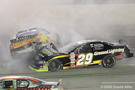 Kentucky Speedway 2009 Mikey Kile Tom Berte