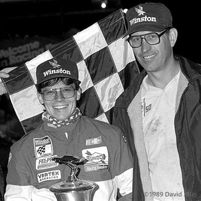 Farley Speedway 1989 Ray Guss Jr Larry Eckrich