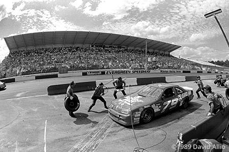 Evergreen Speedway 1989 Roy Smith