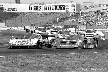 Portland International Raceway 1989 Geoff Brabham Jan Lammers