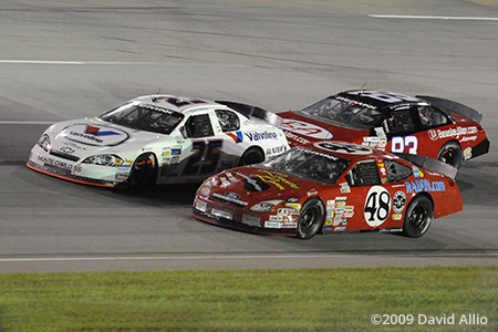 Kentucky Speedway 2009 James Hylton Josh Richards