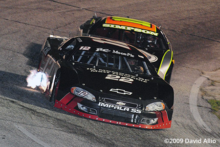 Anderson Motor Speedway 2009 Joey Senter Greg Simpson