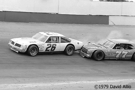 Kingsport Intl Speedway 1979 John A. Utsman Harry Gant