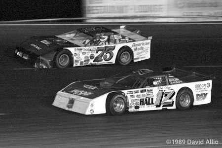 I-44 Speedway 1989 Larry Phillips Kirk Shaw