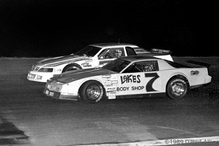 South Sound Speedway 1989 Ron Eaton Tobey Butler