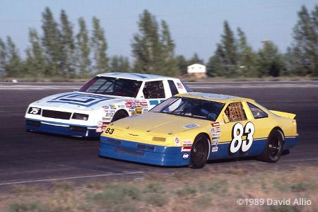 Tri-City Raceway 1989 Sumner McKnight Bill Sedgewick
