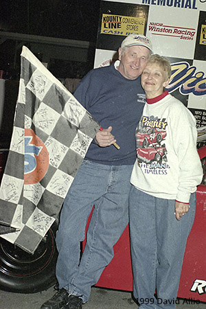 Asheville Motor Speedway 1999 Bob Pressley Doris Pressley
