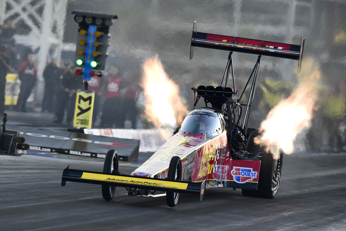 The Strip at LVMS 2019 Brittany Force Top Fuel Record Run