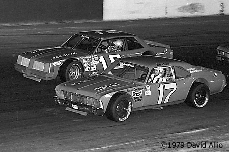 Hickory Speedway 1979 Chuck Bown Butch Lindley