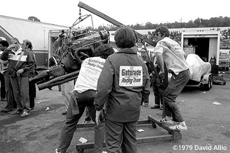 Martinsville Speedway 1979 Buddy Parrott NASCAR Winston Cup Grand National