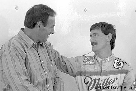 Nashville Motor Speedway 1989 Larry Phillips Mike Alexander