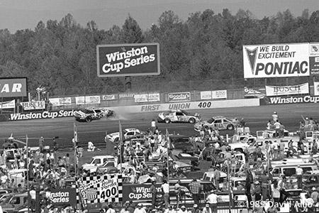 North Wilkesboro Speedway 1989 Phil Parsons Brett Bodine