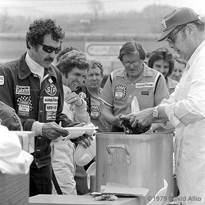 Bristol Intl Raceway 1979 Richard Petty Dick Brooks