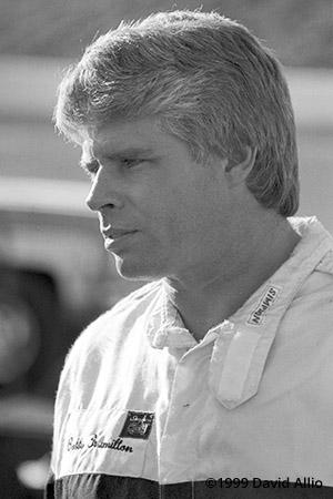 Nashville Motor Speedway 1989 Bobby Hamilton