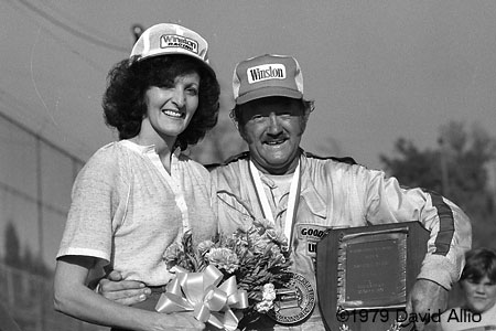 Kingsport International Speedway 1979 Gene Glover Reba Glover