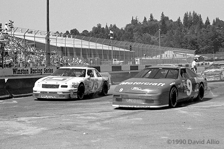 Evergreen Speedway 1990 Bill Sedgewick Bill Elliott