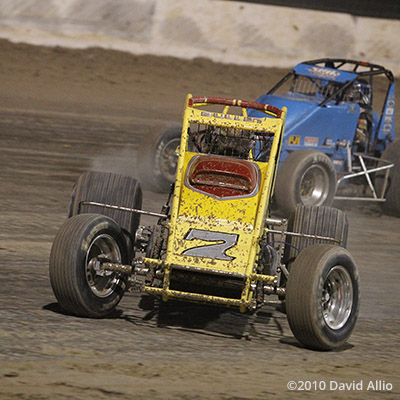 The Dirt Track at LVMS 2010 Blake Miller