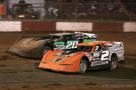 Dixie Speedway 2010 Brady Smith Jimmy Owens