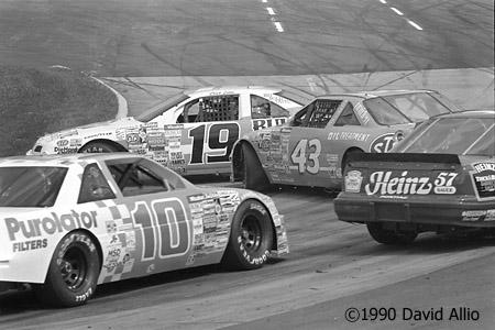 Martinsville Speedway 1990 Chad Little Richard Petty