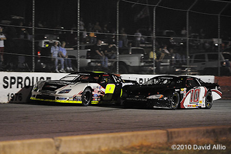 Greenville Pickens Speedway 2010 Chase Elliott Ryan Blaney