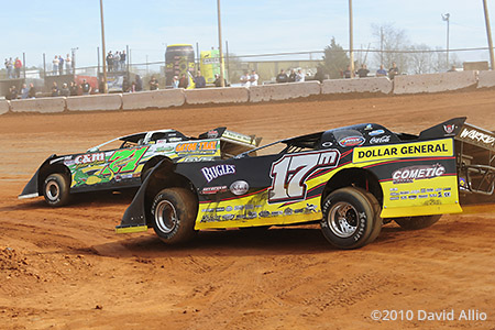 Cherokee Speedway 2010 Dale McDowell Chris Wall