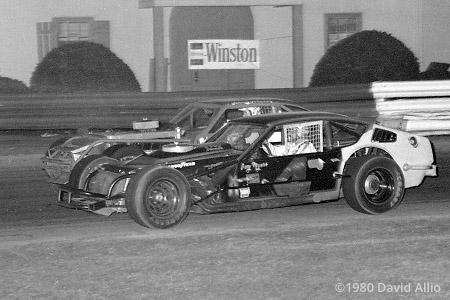 Bowman Gray Stadium 1980 Gary Myers Johnny Johnson