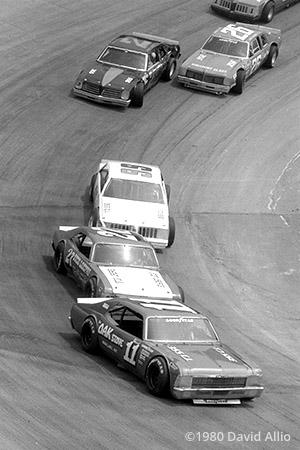 Kingsport Intl Speedway 1980 Jack Ingram Bosco Lowe