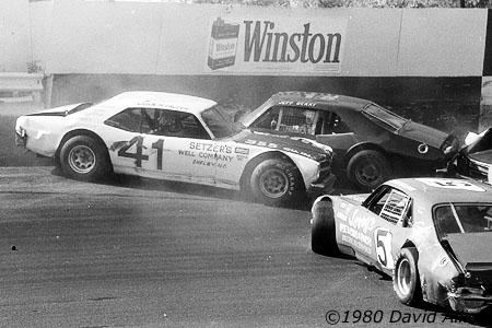 Hickory Speedway 1980 John McFaddin Jeff Berry