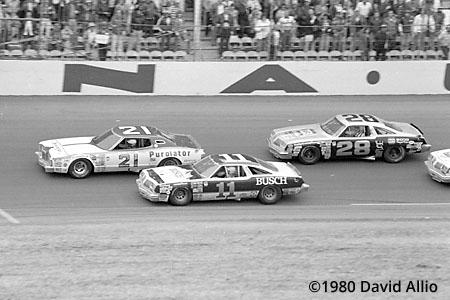 Daytona Intl Speedway 1980 Neil Bonnett Cale Yarborough