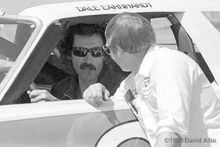 Nashville Intl Raceway 1980 Richard Petty Dale Earnhardt