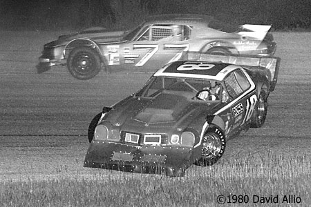 Five Flags Speedway 1980 Ronnie Sanders Buddy Hoodless