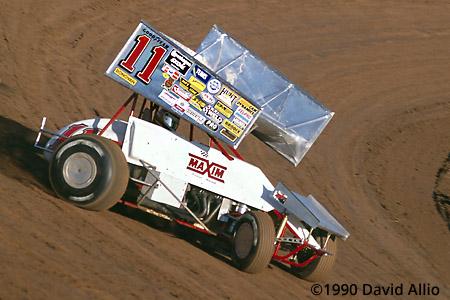 Lernerville Speedway 1990 Steve Kinser