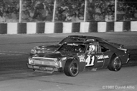 Asheville Motor Speedway 1980 Bobby Allison Bob Pressley