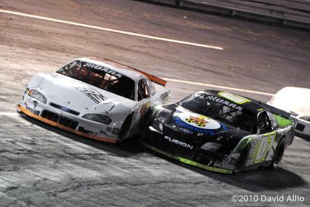 Lonesome Pine Raceway 2010 Garrett Campbell Clint King