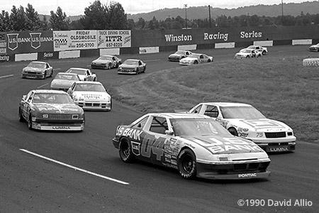 Portland Speedway 1990 Hershel McGriff Bill Sedgewick