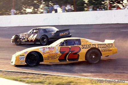 Motordrome Speedway 1990 Mike Cicchillo Bob Smith
