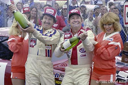 Daytona Intl Speedway 1980 Neil Bonnett Donnie Allison