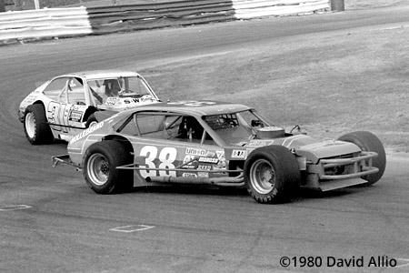 Bowman Gray Stadium 1980 Jerry Cook Don Miller
