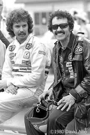 Charlotte Motor Speedway 1980 Richard Petty Kyle Petty