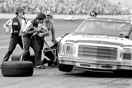 Charlotte Motor Speedway 1980 Tim Brewer Jeff Hammond