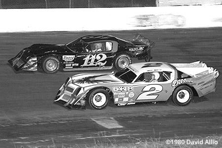 New Smyrna Speedway 1980 Gary Balough Mark Martin