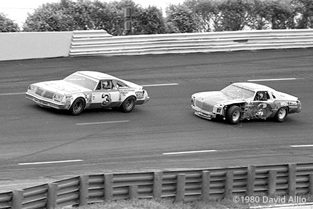 Charlotte Motor Speedway 1980 Richard Childress Dale Earnhardt